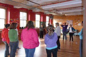 """""""Finding Your Voice"""" workshop at Arts In Reach"""
