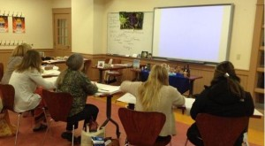 """""""Metaphors, Powerful Tools for Teaching"""" workshop at the NHAEA Conference."""