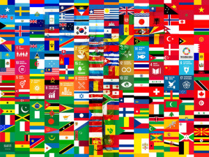 Global Goals Flags